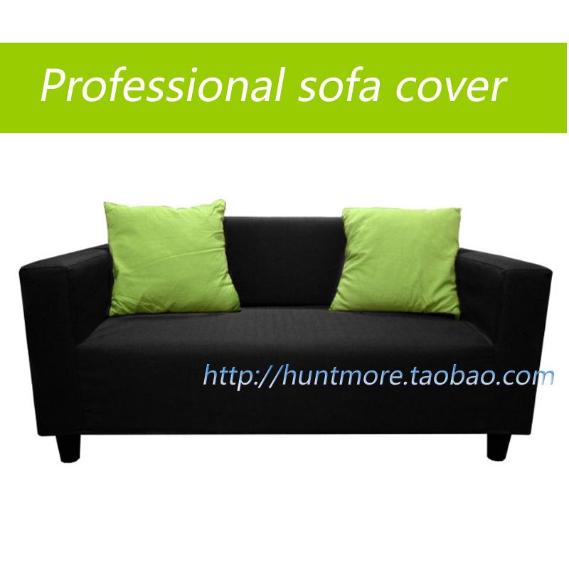 Manufacturer Sofa Covers Slipcover Sofa Set For Ikea Klobo Double Set Sofa Professional Black