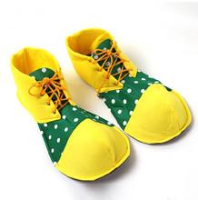 Рождество костюмированный бал взрослые смешные клоун обувь бесплатная доставка