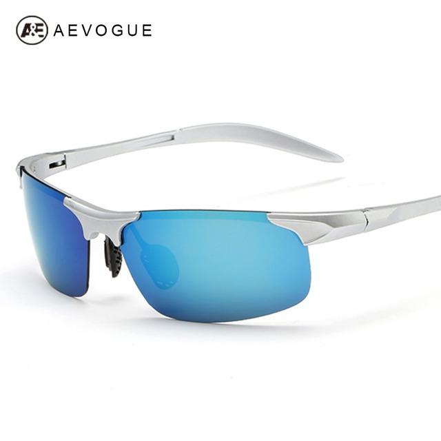 Очки aEVOGUE поляризованные мужчины поляроидный пластиковых мужская водителя зеркало на открытом воздухе очки UV400 AE0303