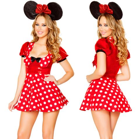 Minnie Mouse Costume Cheap Minnie Mouse Polka Dot Costume