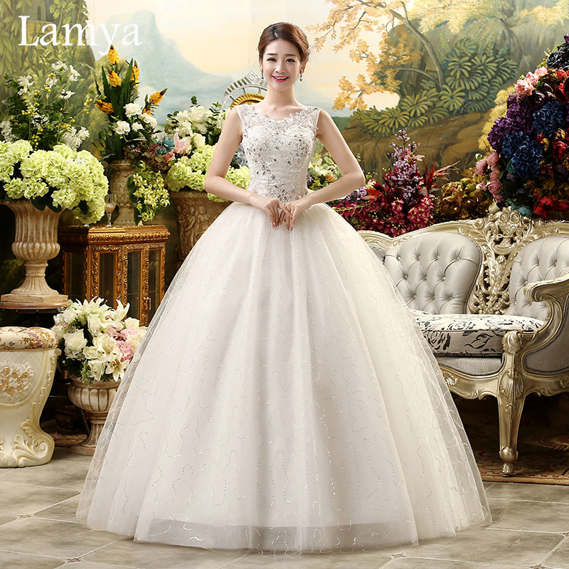 2016 real photo cheap plus size sexy lace wedding dress for Vintage wedding dresses plus size