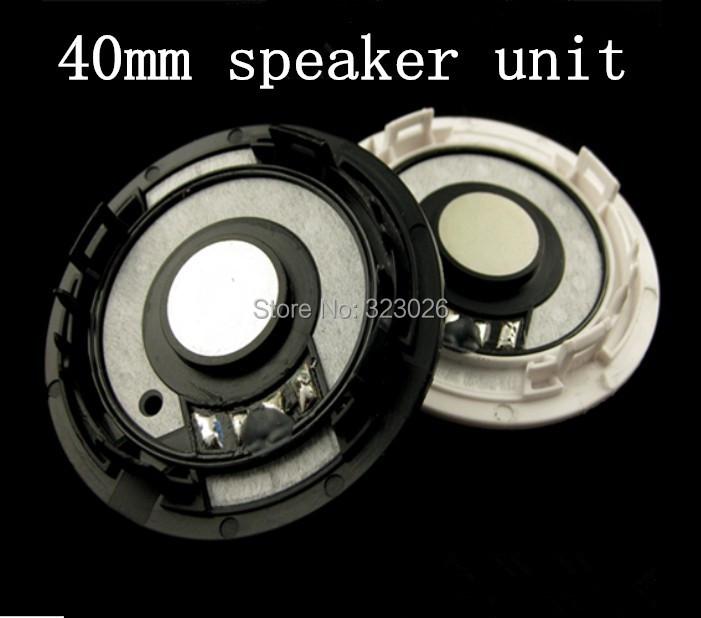 High grade fever 40mm headset speaker unit DuPont MYLAR diaphragm imports(China (Mainland))