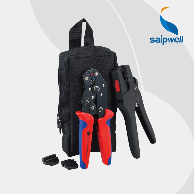 Saipwell SNK-D30725 MINI CABLE TOOLS PACK CRIMPING PILER 0.25-2.5mm2 + wire stripper 0.08-4 mm2 + wrench(SN-0725 + FS-D3 + H02)(China (Mainland))