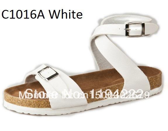 2014 Summer Sandals outdoor slipper cork sole suitable women Ankle Strap Footbed - Summer's Leisure Shop store