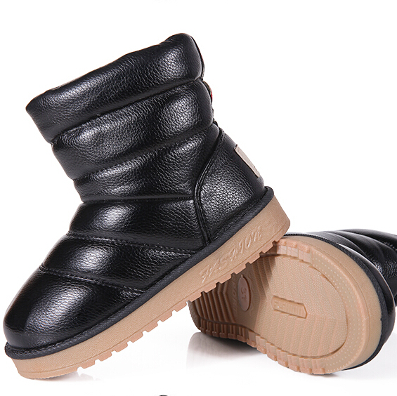 Boots For Kids 2016 Winter Snow High Quality Waterproof Windproof For Boys Girls Kids Winter  Size 30-36 Boots t-x352