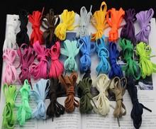 0.7 м * 0.8 см цвет плоские шнурки с 57 цвета, Причинные спорта цветные шнурки шнурки-много YB-DJ46