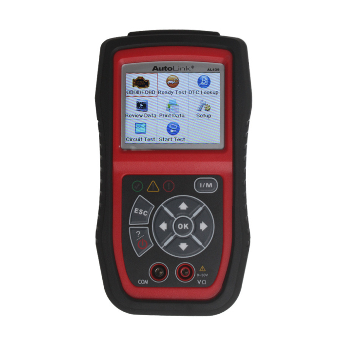 Autel Autolink AL439 Support One-Click I/M Readiness Key and Many Car Models AL439 Check Engine Light With High Quality(China (Mainland))