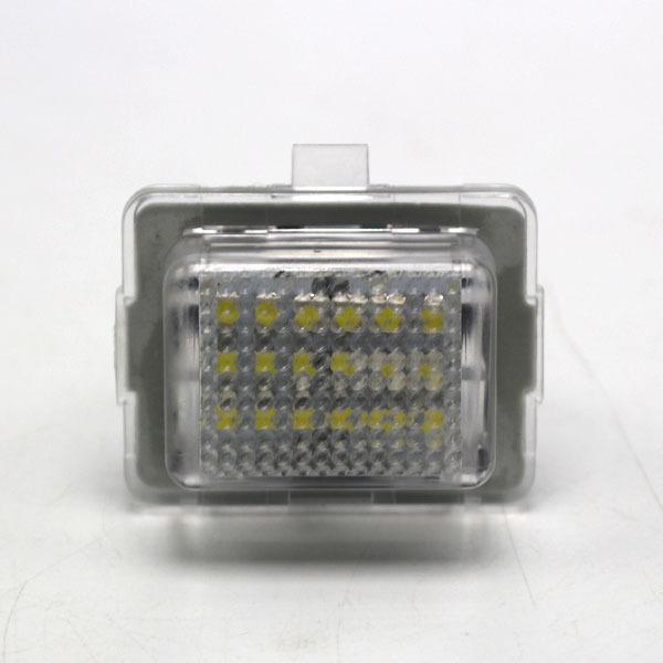CAN-BUS LED License-Plate Light Lamps Mercedes Pre-LCI W204 W212 W221 White - Guangzhou Xincheng Electronic Technology Co., Ltd store