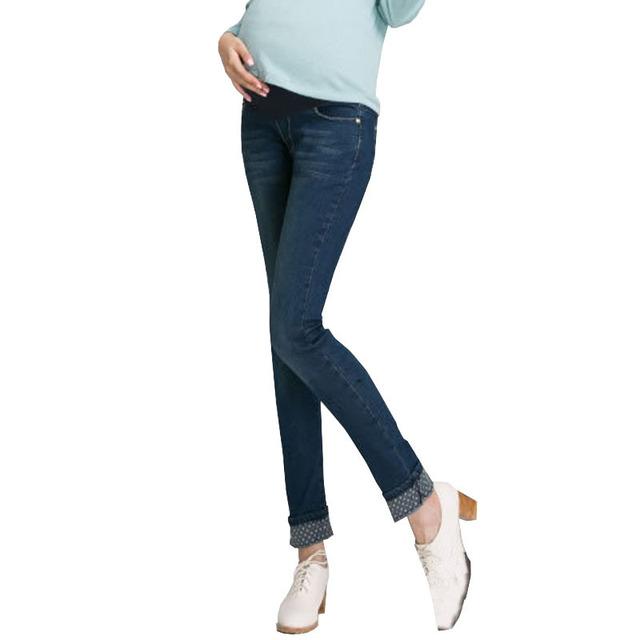 Для беременных джинсы для беременность одежда деним брюки для беременных женщины ...