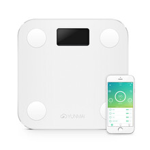 premium Original YUNMAI mini smart weighing scale digital scale support Android4.3 IOS7.0 Bluetooth 4.0(China (Mainland))