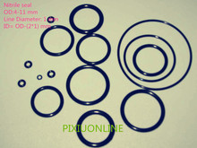 Buy 100PCS YT935 Nitrile O-Rings Rubber Gasket/Backup Ring/Joint Ring Nitrile seal OD (4-11 mm)* Line Diameter 1 mm NBR for $1.20 in AliExpress store
