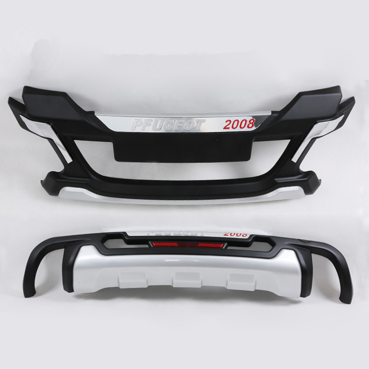 Peugeot 2008 Car front and rear bumpers trim cover protective device protective bar for Peugeot accessories