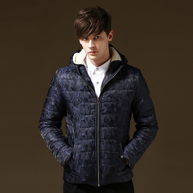 Parka Men Camouflage Hooded 2015 New Men Winter Coat Outdoor Wear Men s Coat Sport Jacket
