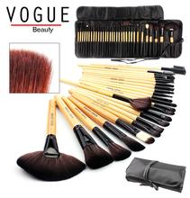 Sada 32 ks profesionálních štětců na make up v luxusním pouzdře