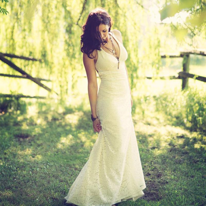 Vestido Novia мода линии свадебные платья 2016 рукавов кружева свадебное платье халат де Mariage женщины Vestidos новия