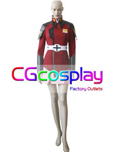 Free Shipping Cosplay Costume Gundam SEED Lunamaria Hawke New in Stock Retail/Wholesale Halloween Christmas Party
