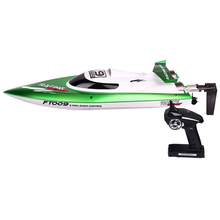 Hot Sale New FT012 Upgraded FT009 2.4G Brushless Remote Control Racing Boat 30KM/H High Speed RC Boat Toy(China (Mainland))