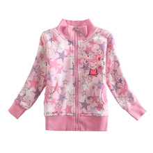 Girl winter coat jacket Children cotton clothing winter outwear girls hoodies children outwear clothing for girls F4363