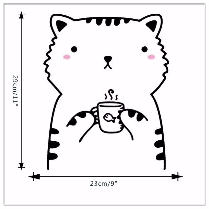2017 Minimalism Nordic Cute Animal Theme DIY Wall Sticker For Kids Room Wallpaper Living Rooms Kindergarten Home Decor Stickers