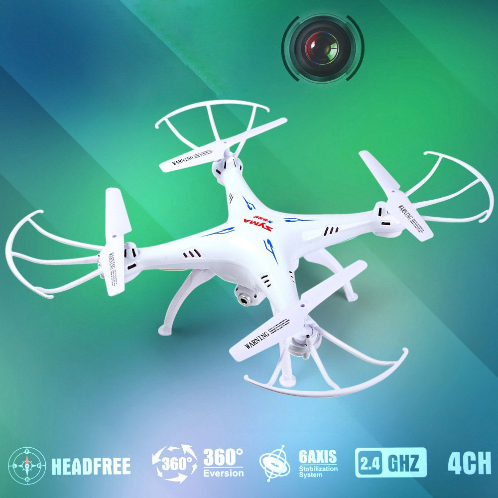 Syma X5SC -1 Version 4CH 2.4GHz 6 Axis RC helicopter Quadcopter with HD Camera Remote Control Toys Mini Drones RTF AS Gift(China (Mainland))