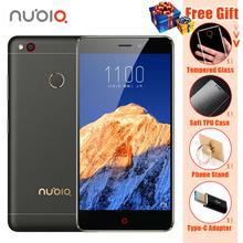 """טלפון סלולרי מקורי zte nubia n1 4 גרם lte mtk6755 אוקטה core 5.5 """"1080 P 3 גרם RAM 64 GB ROM 13.0MP 5000 mAh טלפון נייד טביעת אצבע(China (Mainland))"""