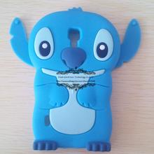 Buy New Hot 3D Cute SUPER Flexible Cartoon Stitch Soft Silicone Cover Case LG Optimus L7 II Dual P710 P713 P715 for $3.19 in AliExpress store