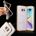 For Samsung S7 Edge Royal Luxury style Plating Gilded TPU Phone Case For Samsung Galaxy S7