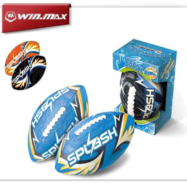 WINMAX Beach Entertainment Series Rugby Ball Swimming Pool Equipment Neoprene American Football Ball WMB10576(China (Mainland))
