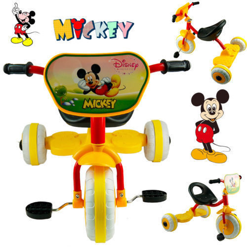 MICKEY MOUSE BIKE TRIKE TRICYCLE KID CHILD 3 WHEEL CAR RIDE ON TOY SCOOTER BABY TOY(China (Mainland))