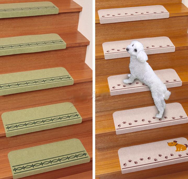 Giappone sanko famiglia antiscivolo scala piano tappetini scale tappeti ispessimento auto ...