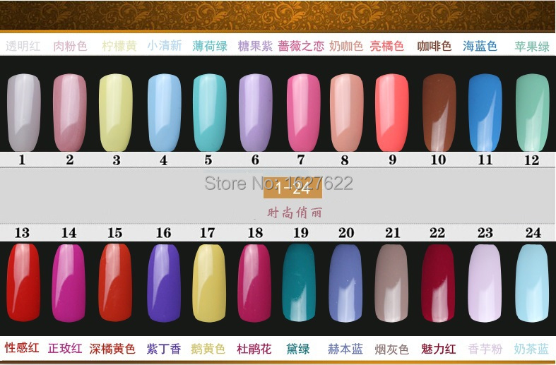 ETEM Free Shipping UV Gel Nail UV Builder Gel 120 colors Nail Art Manicure Tips Glue Free Shipping 80pcs/lot ,Factory supplier(China (Mainland))