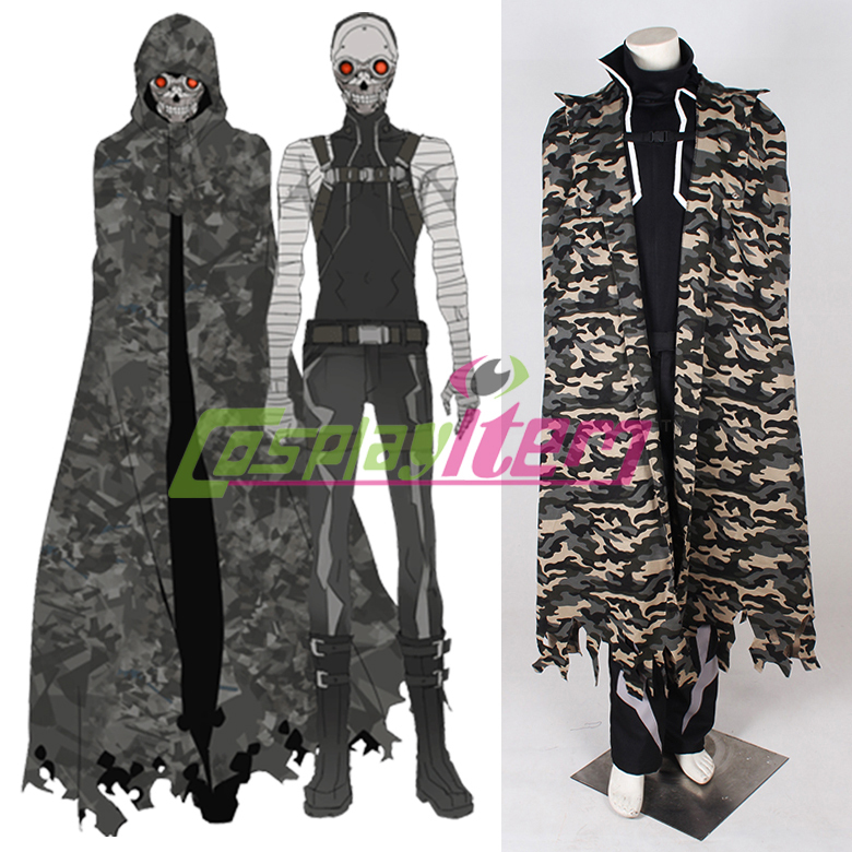 Customized  game cosplay Sword Art Online Gun Gale Online Sterben Death Gun Cosplay Costume tailor for you any sizeОдежда и ак�е��уары<br><br><br>Aliexpress