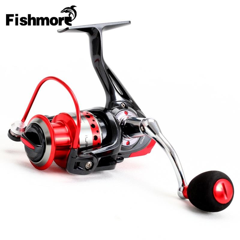 Metal Spool Spinning Fishing Reel for Beach Carp Fishing Gear Wheel 2000 3000 4000 Spinning Reels Coil 10+1BB eva handle<br><br>Aliexpress