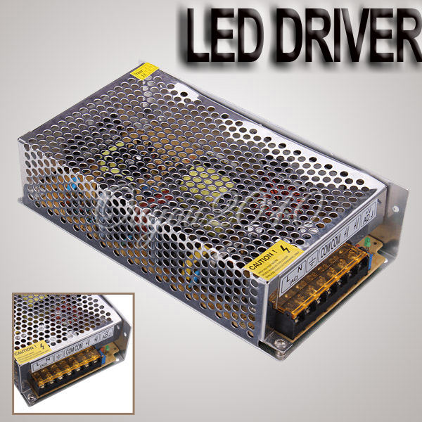 New 12V 20A 240W Switching Switch Power Supply Driver for LED Strip Lights AC 110 220V