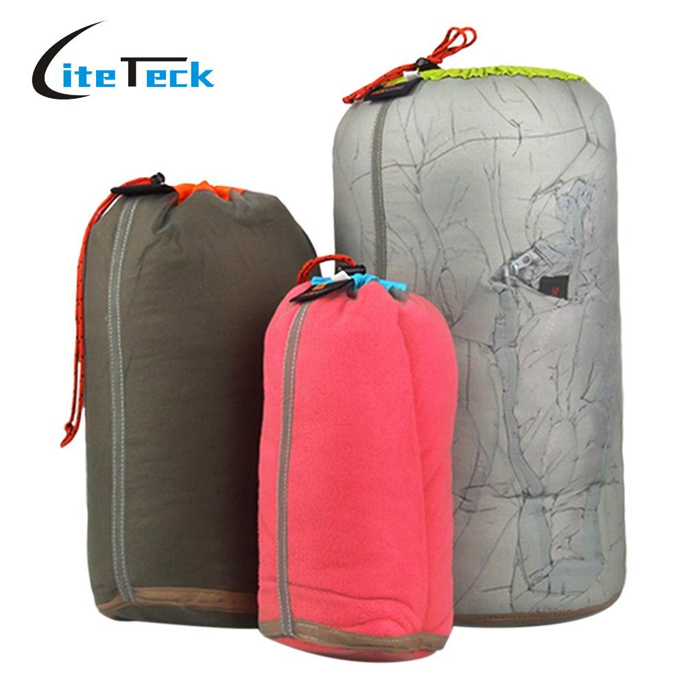 Ultralight Drawstring Mesh Stuff Sack Bag for Tavelling Camping Sports Large/Medium/Small Size(China (Mainland))