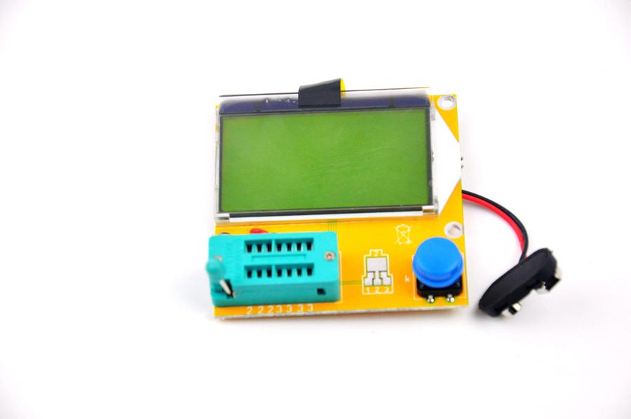 Mega328 Transistor Tester Diode Triode Capacitance ESR Meter MOS/PNP/NPN L/C/R(China (Mainland))