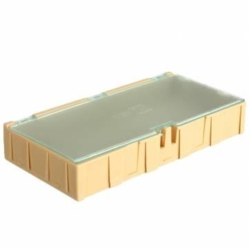 1Pc Yellow Mini ESD SMD Chip Resistor Capacitor Component Box(China (Mainland))