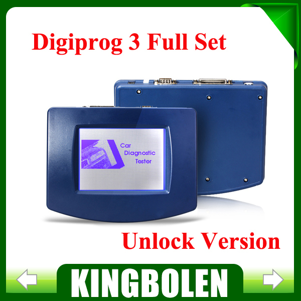 New Digiprog 3 V4.94 Odometer Programmer professional Digiprog III mileage adjust tool Digiprog3 DHL Free Shipping(China (Mainland))