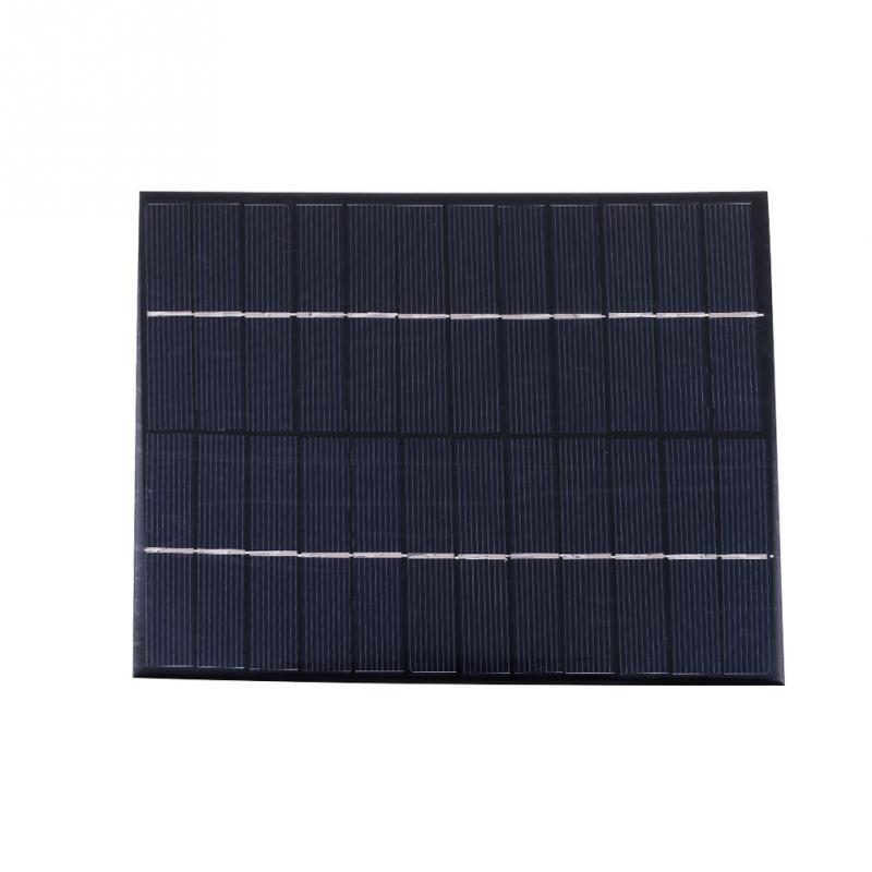 5.2W 12V Polycrystalline Silicon Solar Panel Mobile Phone Digital Products Portable Black Solar Panels(China (Mainland))
