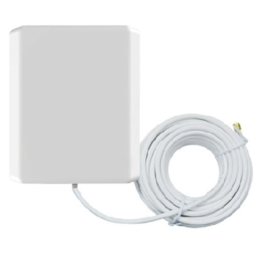 2x 10M External Cable 2.4 Ghz High Gain 10dBi Outdoor WLan / ISM WiFi Wireless Router Directional Antenna Panel Antennas RP SMA(China (Mainland))