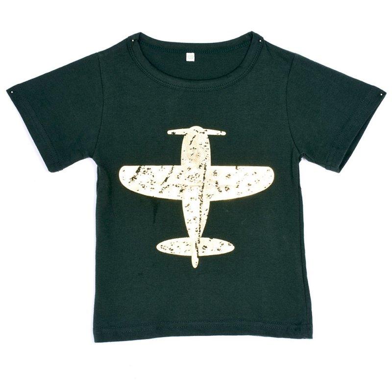 Гаджет  Cotton Aircraft Pattern Baby Boys Kids Short Sleeve t-Shirt Shirt Tops Free Shipping None Детские товары