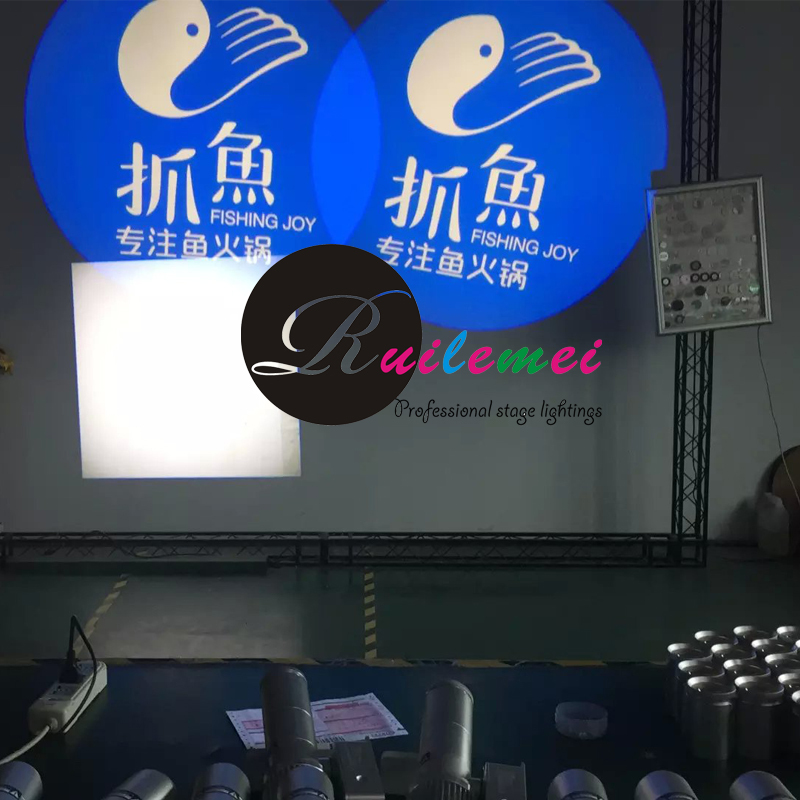 Custom Wedding Decorations Gobo Lights 20W Led Outdoor Projector Holiday Logo Projektor Party Cheap DJ Equipment Stage Lighting - RUILEMEI INDUSTRAL CO., LTD. store