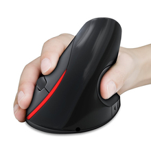 2.4G 2400DPI Wireless Vertical Mouse Ergonomic Rechargeable Computer Mice Built-in Li-ion Battery Game Mouse Gaming Mouse MX15(China (Mainland))