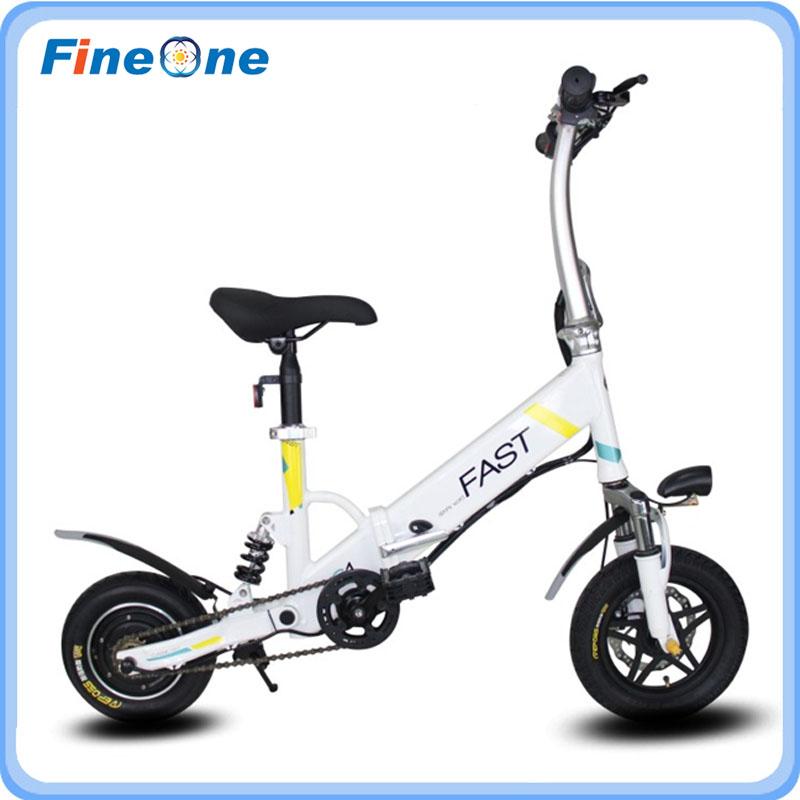 2017 China Electric Bicycle Folding Bike Electrical Scooter Electric Scoota Smart eBike Adult Foldable Power Electric Mini Bike(Hong Kong)