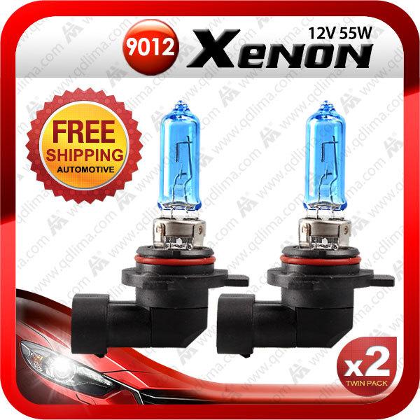 x2pcs bright white 9012 HIR2 12v 55w halogen bulb free shipping+2pcs gift t10 LED bulb<br><br>Aliexpress