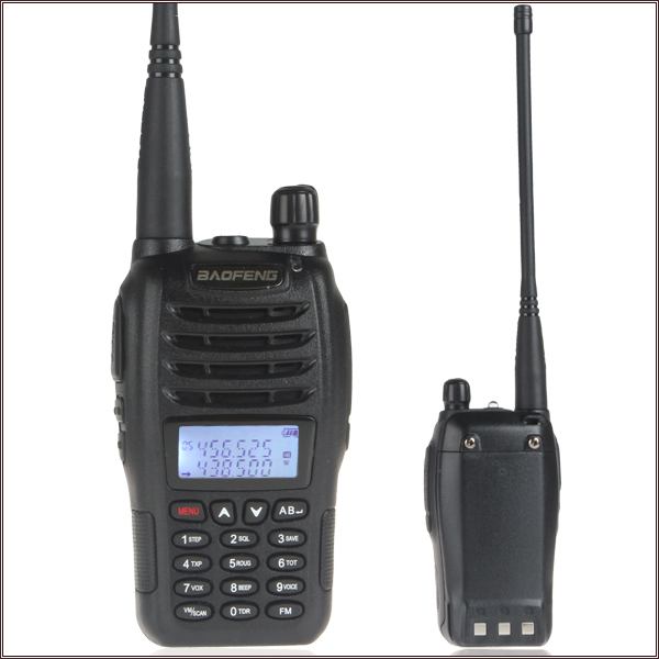 Baofeng UV-B6 5W 99CH Dual Band Walkie Talkie 2 Two Way Radio UHF 136-174 / VHF 400-470MHz Transceiver(China (Mainland))