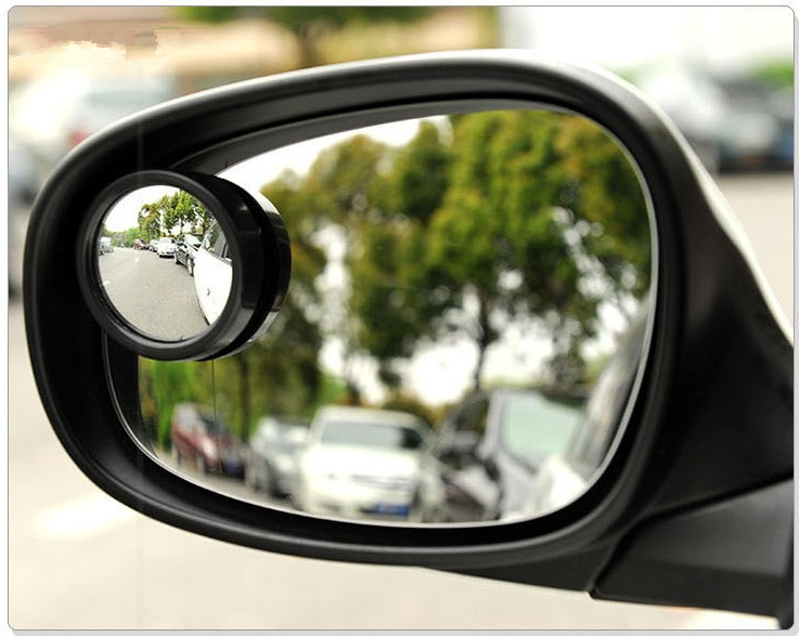 Гаджет  Wide Angle Round Convex Car Mirror  Blind Spot Auto RearView 1pc free shipping None Автомобили и Мотоциклы