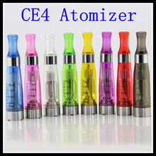 5pcs/lot  CE4 clearmizer cheap high quality electronic cigarette cartomizer 1.6ml EGO CE4 atomizer fit  for ego/evod battery
