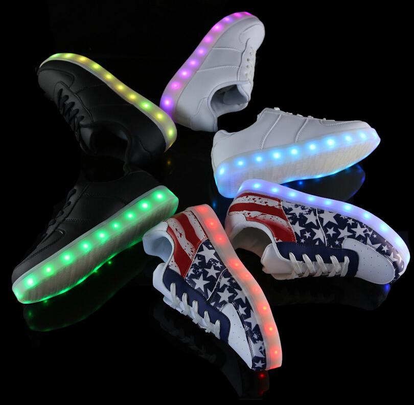 nouvelle chaussure nike qui font de la lumiere - mc2partners