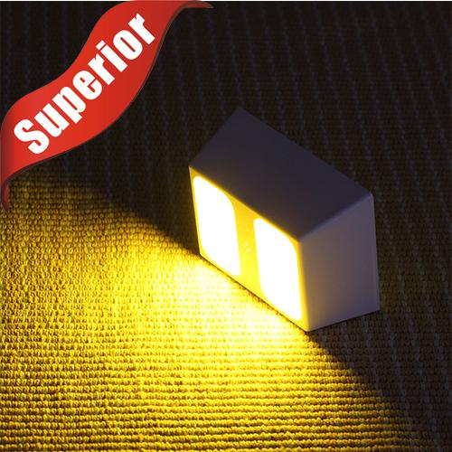 2015 New LED Closet Light Energy Saving Sensitive Human infrared induction Home Battery Night Light Sensor Wall Sconce(China (Mainland))
